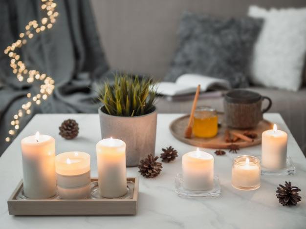 bougies naturelles